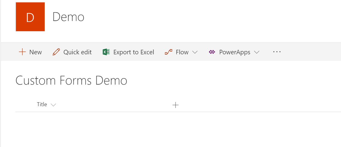 Custom Forms SharePoint Modern Experience - Turtle Works